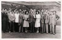 Reálné gymnázium v Přívoze před přesídlením šk. r. 1942-1943