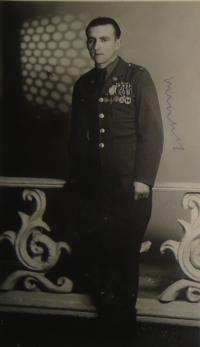 Josef Babák, 1945