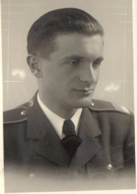 Stanislav Zeinert aspirant letectví Cheb