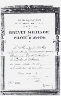Vstup do francouzské armády -Švic