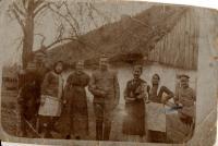 Hrybil´s original little house in Moldava village.