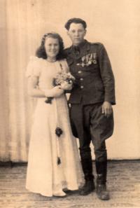Svatební foto Vladimíra Hryzbila