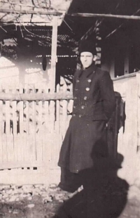 In the village of Černotisovo on Ruthenia, 1942