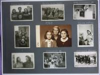 fotoalbum - stránka z roku 1947