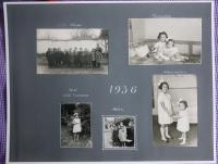 fotoalbum - stránka z roku 1936
