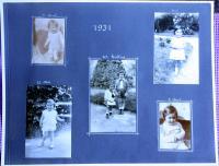 fotoalbum - stránka z roku 1931