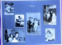 fotoalbum - stránka z roku 1934