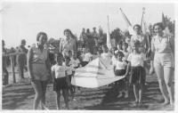 Otevření hřiště židovského tělocvičného spolku Makabi v Prostějově. 1935