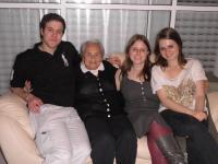 S vnuky na Pesach. 6. 4. 2012.