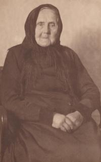 Babička sestry Paulíny