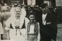 Bratr Rudolf a prarodiče Čermákovi