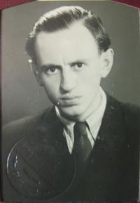 Otec Vojtěch Mareška na Univerzitě Karlově