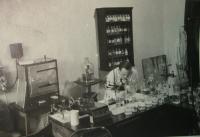 Otec v laboratoři
