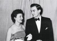 Helena a Ivo 1950
