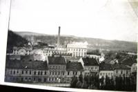 Kralupy nad Labem před bombardováním - cukrovar