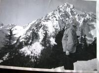 D. Hanauerová v Tatrách