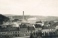 Cukrovar v Kralupech nad Vltavou (40. léta)