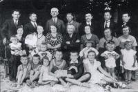 Rodina učitele Josefa Vlka (1935)