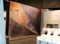 Dílo Jehudy Bacona v muzeu Jad Vašem v Jeruzalémě