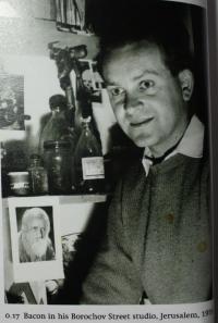 V jeruzalémském ateliéru v roce 1959