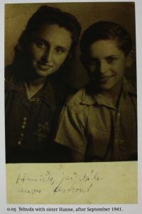 se sestrou Hanou - 1941
