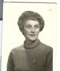 Doris Grozdanovičová v mládí