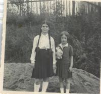 Doris Grozdanovičová v dětství