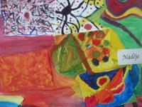 Výtvarná díla na téma Naděje