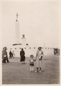 Dagmar Evaldová s matkou