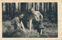 Dagmařiny rodiče Anděla a Karel Evaldovi