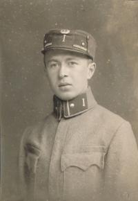 Karel Evald, Dagmařin otec