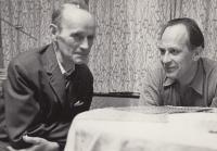 Miloš Lokajíček s panem Knytlem, 70. léta