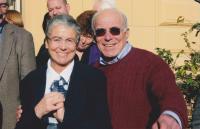 Helena Illnerová (vlevo) s profesorem Davidem Kleinem