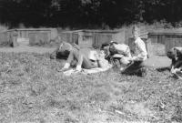 1981 Soví hať u Mysletína-první stanový tábor