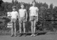 Tábor ve vesničce Skála 1979