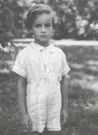 As a seven-year-old in Čimelice