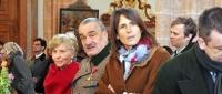 Karel Schwarzenberg with his wife