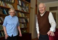 Jaro Křivohlavý with his wife