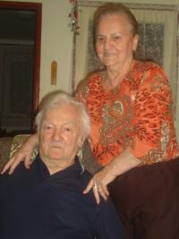 Evžen Basch with his wife