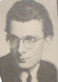 Karel Beránek (fotografie z tabla)