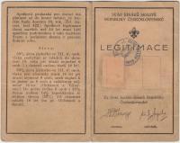 členská skautská legitimace (vnější strana)