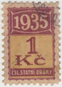 odlepená známka z členské skautské legitimace