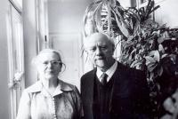 Rodiče Bohumír a Božena Alšovi (Axmanovi), 70. léta