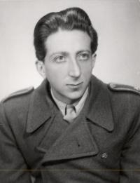 Kurt Markovič in his youth
