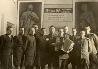 Kurt Markovič na Vojenské spojovací akademii v Leningradu