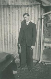 Otec Josef Jehlík st., Úboč 1940