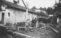 Stavba pumpy, Úboč 1938