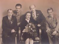 Svatba Márie a Antonína Hejdových