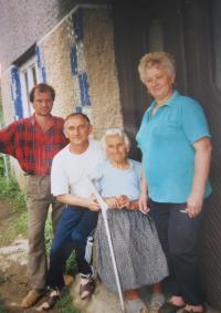 Matka Anna Maliňáková v Uliči
