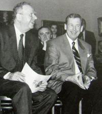Milan Uhde a Václav Havel, 1994